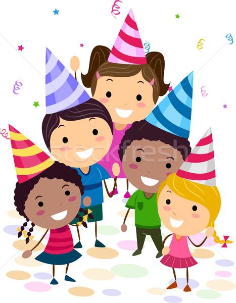 Birthday Party Stock photo © lenm