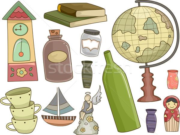 Collectibles Design Elements Stock photo © lenm