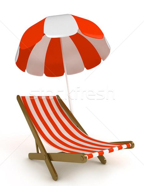 Beach Chair Stock photo © lenm