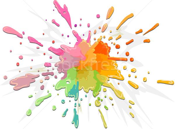 Color Splat Stock photo © lenm