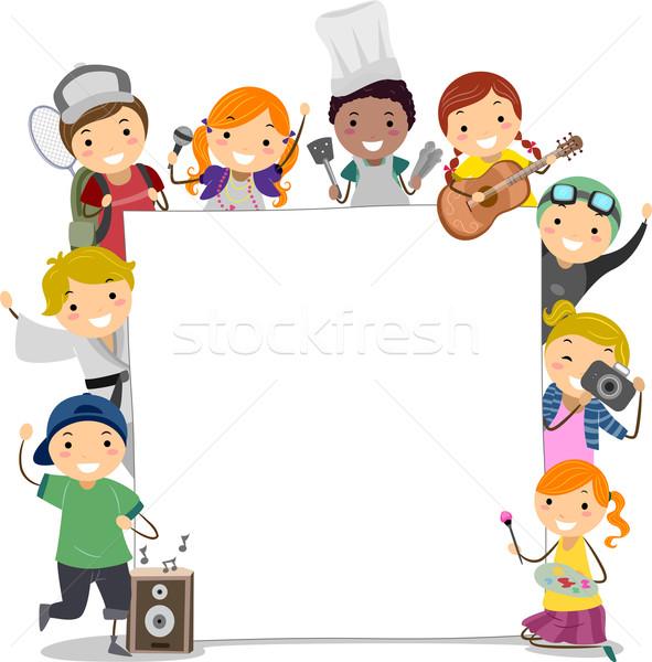 Extra Curricular Classes Kids Stock photo © lenm