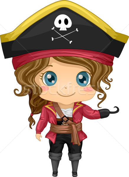 Pirate Costume Stock photo © lenm