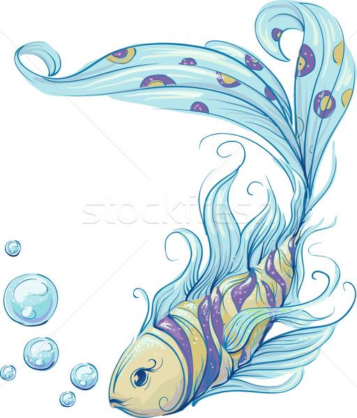 Fish Design Stock photo © lenm