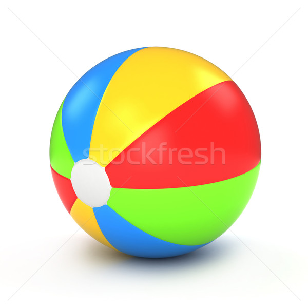 Beach Ball Stock photo © lenm