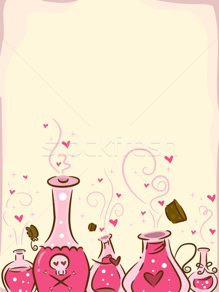 Love Potion Background Stock photo © lenm