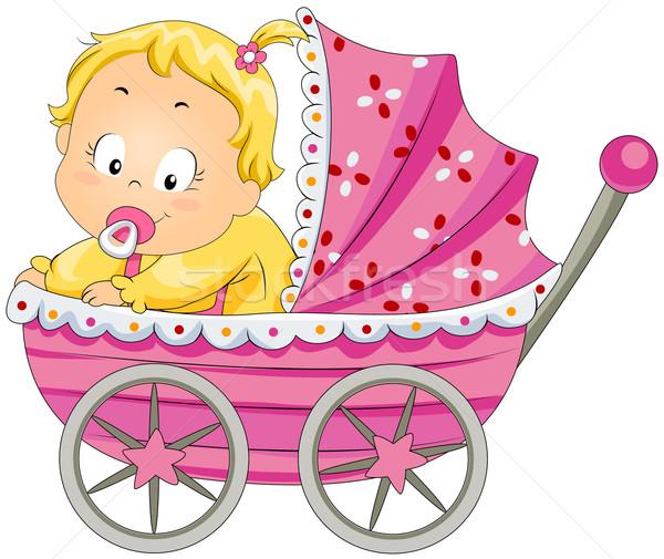 Игры, младенцы в колясках открытка