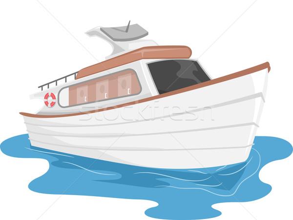 Yacht Stock photo © lenm