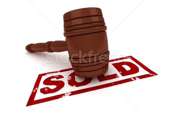 Sold Stock photo © lenm