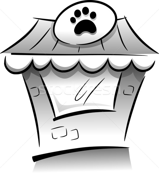 Pet Shop Icon Stock photo © lenm