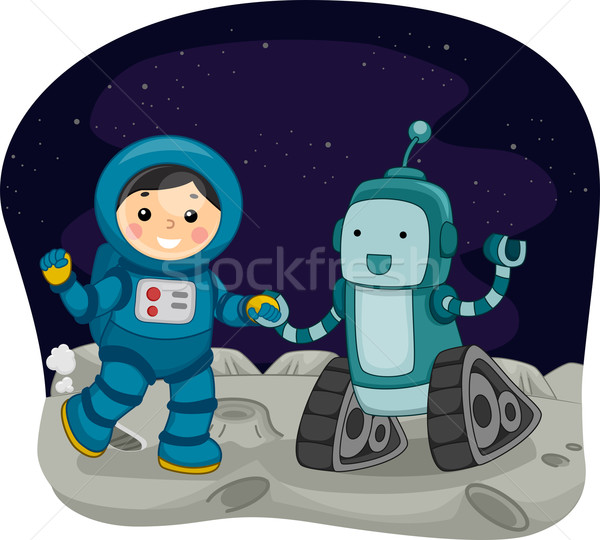 Stock photo: Space Dance