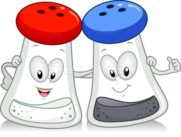 Salt and Pepper Stock photo © lenm