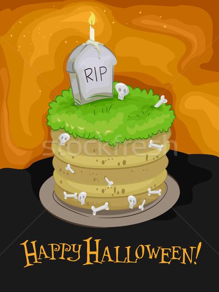 Halloween Stock photo © lenm