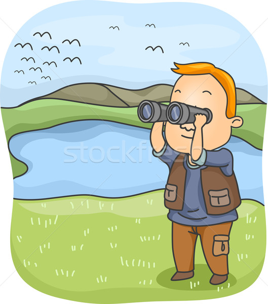 Bird Watching Stock photo © lenm