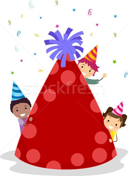 Birthday Hat Stock photo © lenm