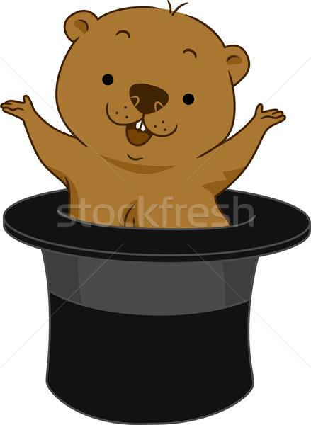 Groundhog Day Stock photo © lenm