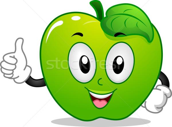 Apple Mascot Stock photo © lenm