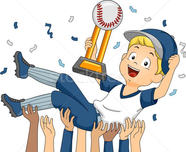 Baseball Champion Stock photo © lenm