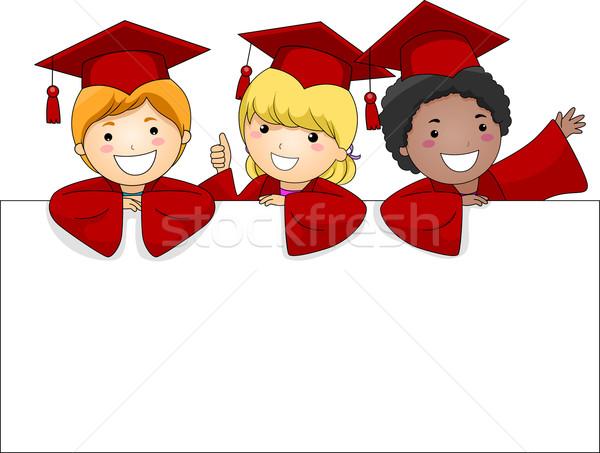 Graduate Banner Stock photo © lenm