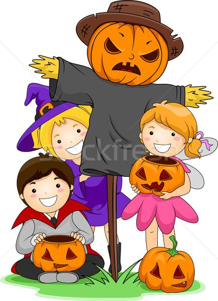 Scarecrow Stock photo © lenm