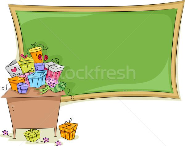 Teacher's Day Background Stock photo © lenm