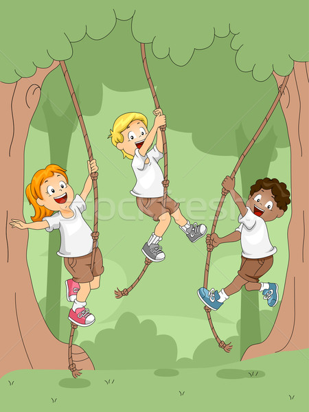 Rope Swing Stock photo © lenm