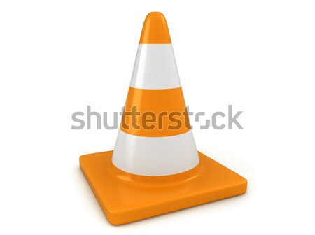 Traffic Cone Stock photo © lenm