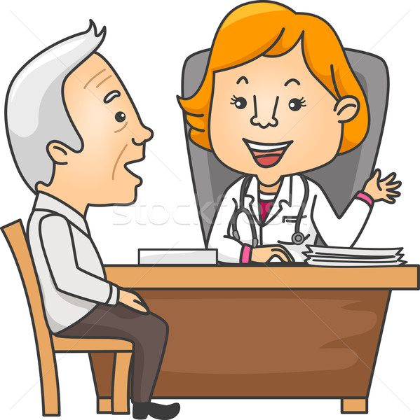Medical Consultation Stock photo © lenm