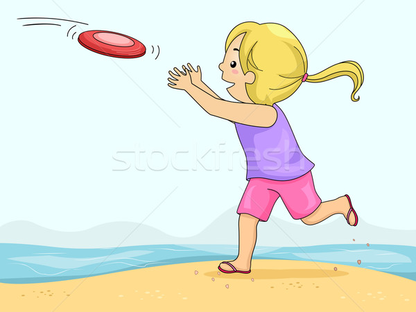 Stock photo: Frisbee Catch