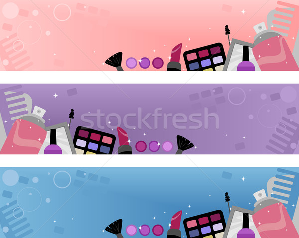 Stock photo: Make-up Header