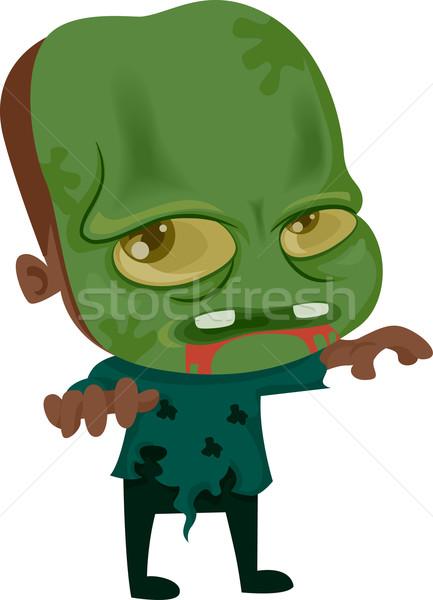 ハロウィン ゾンビ 実例 子供 デザイン 休日 ストックフォト © lenm