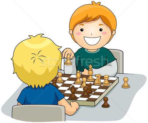 Chess Stock photo © lenm