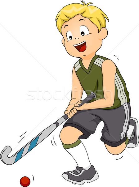 Field Hockey Stock photo © lenm