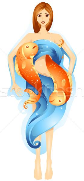Pisces Stock photo © lenm