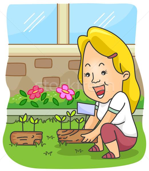 Gardening Stock photo © lenm