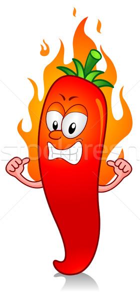 Hot Chili Stock photo © lenm