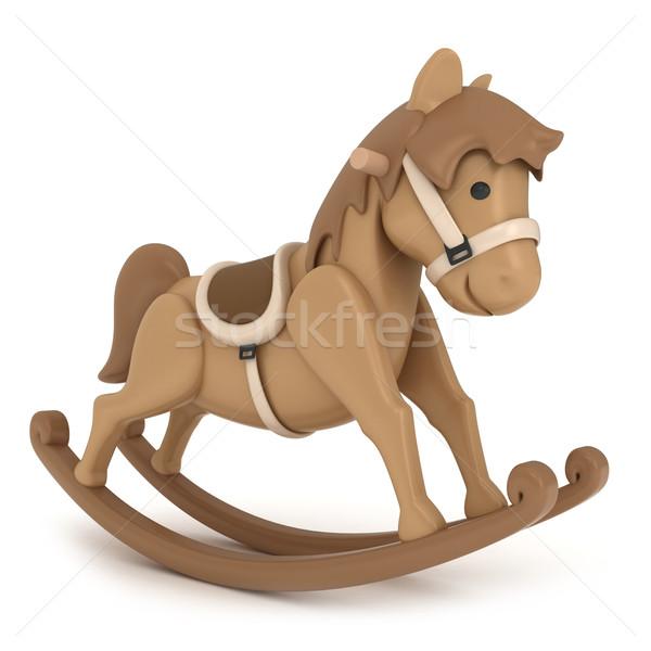 Rocking Horse Stock photo © lenm