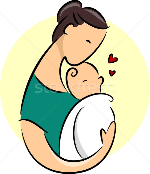 New Mother Icon Stock photo © lenm