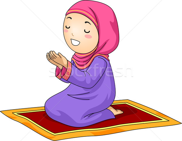 Muslim praying Stock Vectors, Illustrations and Cliparts ...