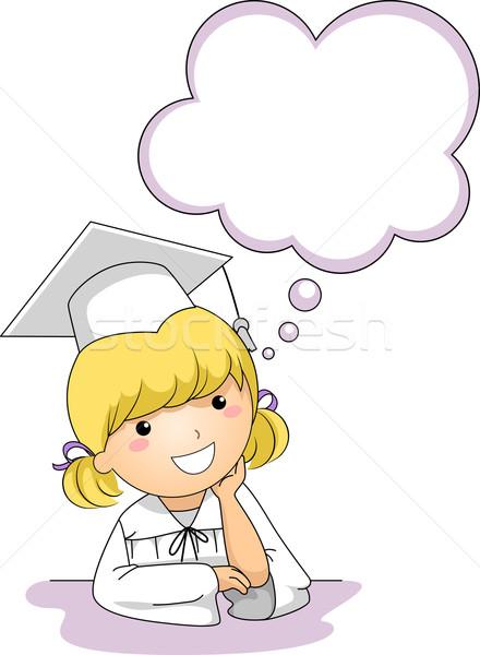 Nina · pensando · nino · graduación · femenino