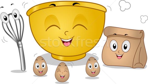талисманы талисман иллюстрация яйца яйцо Сток-фото © lenm