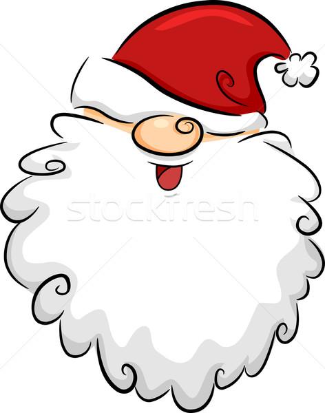 Santa Claus Board Stock photo © lenm