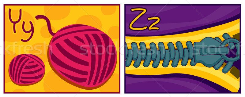 Y - Z Stock photo © lenm