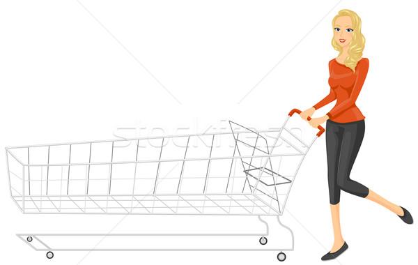 Shopping Cart Stock photo © lenm