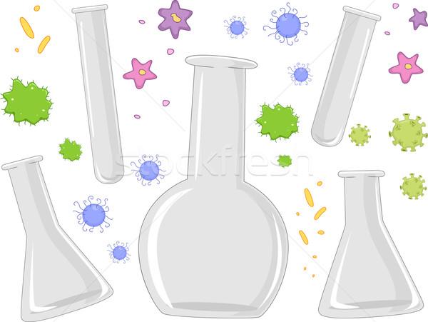 Laboratory Apparatuses Stock photo © lenm