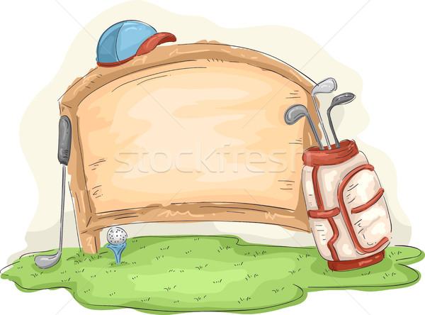 Sport Golf Board Stock photo © lenm