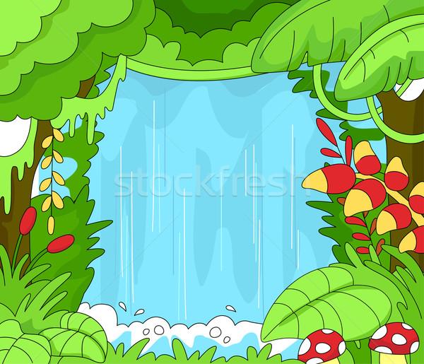 Rainforest Scene Stock photo © lenm