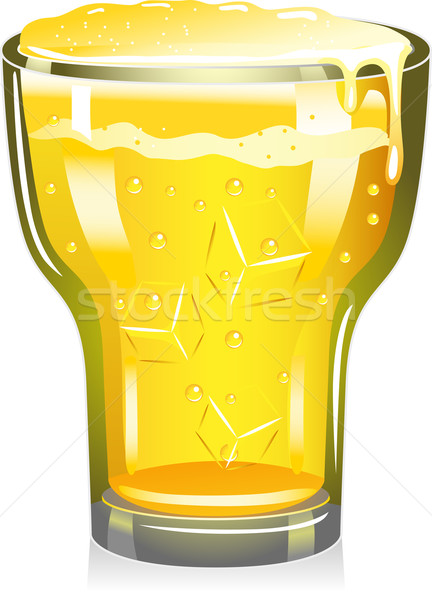 Beer Glass Stock photo © lenm