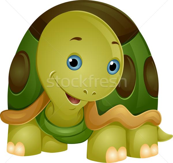 Cute Turtle Stock photo © lenm