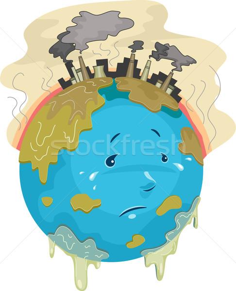 Global Warming Stock photo © lenm