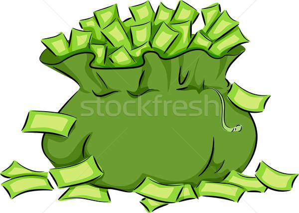 Money Bag Stock photo © lenm